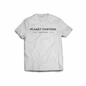 planet 13 icon white shirt