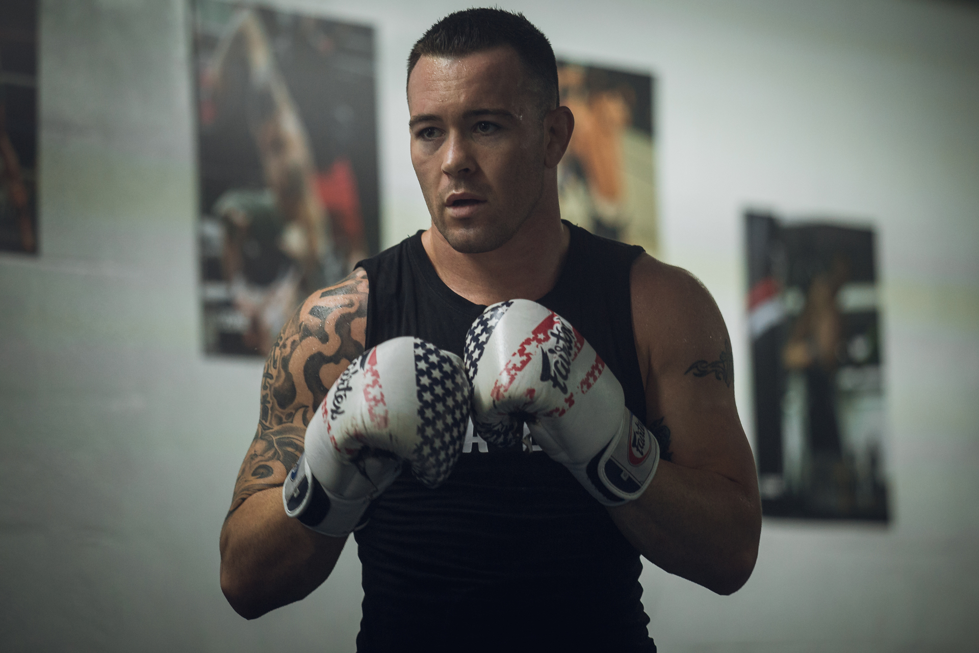 UFC's Colby Covington arrives in Vegas to cause 'chaos', crash UFC events and visit the world's largest cannabis dispensary.
